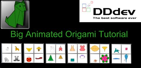 android quick tutorial quick look at big animated origami tutorial app in the