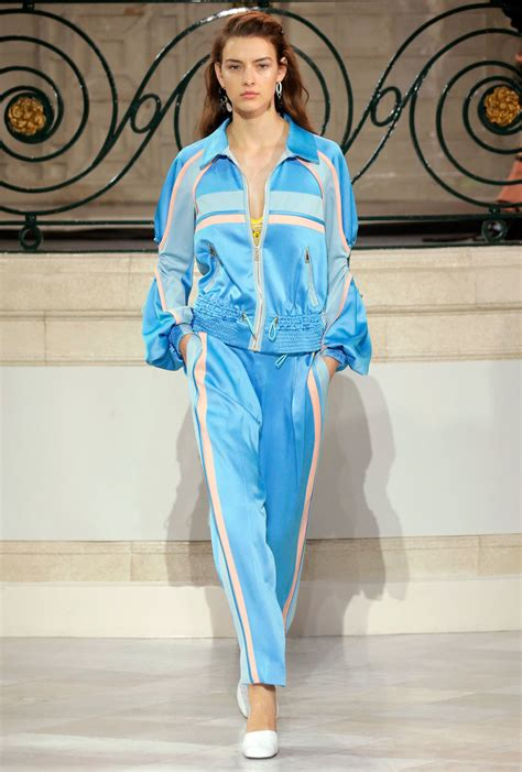 Sweet P Dishes On Runway Exit by Fashion Week Puts A Sweet Spin On Athleisure