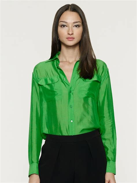 Sharhorn Green Blouse 502 best images about office satin blouses on satin in las vegas and