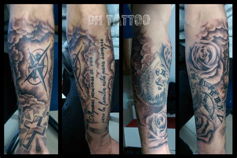 kompass kreuz tattoo uhren kompass landkarte tattoos tattoo motive