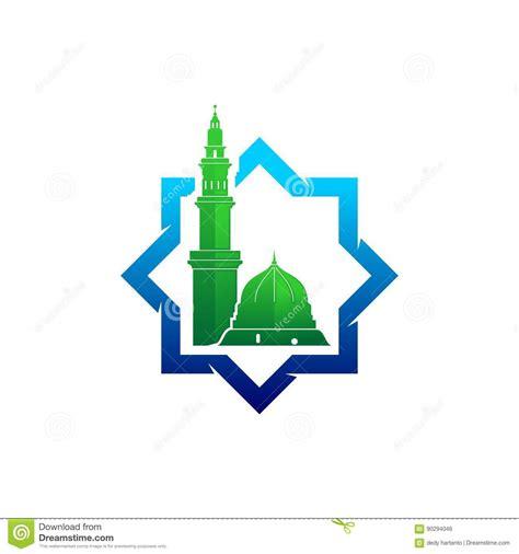 design masjid vector free download madinah mosque vector logo stock vector image of moslem