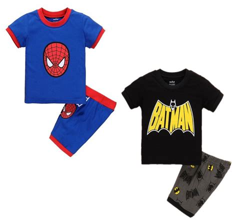 batman pattern t shirt 2016 baby kids boys summer cartoon spider batman pattern