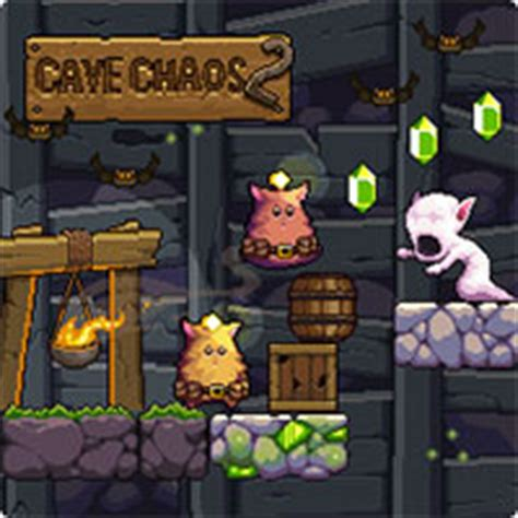 cabe chaos cave chaos 2 a free multiplayer by nitrome