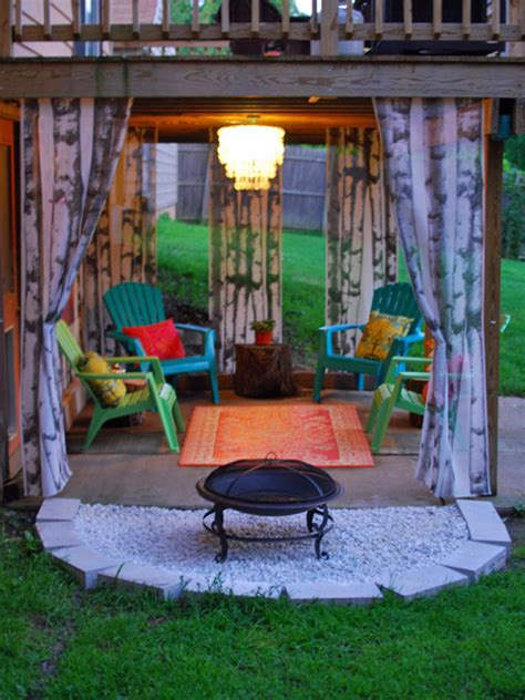 backyard lighting pinterest set the mood with outdoor lighting outdoor spaces
