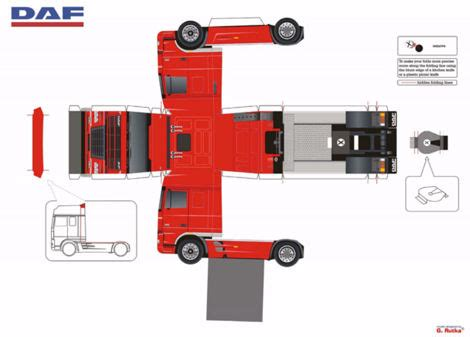 Truck Papercraft - the gallery for gt papercraft truck templates
