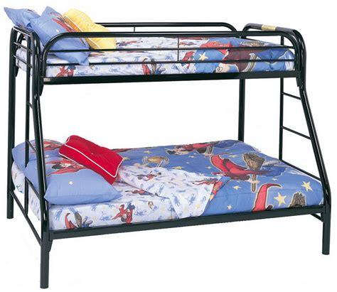 coaster  twin full bunk bed black   homelementcom