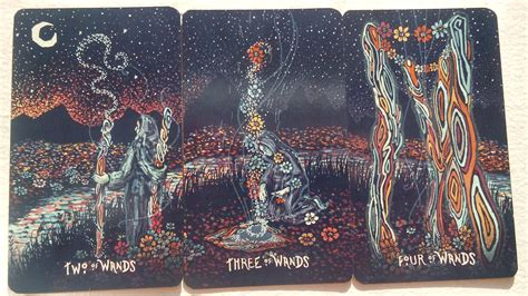 Visions Tarot a review of the prisma visions tarot of wands tarot