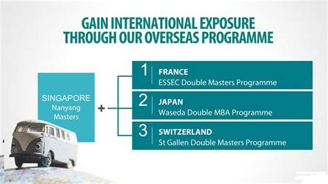 Best Mba Programs In Japan by Degrees Mba Degree Ntu Singapore