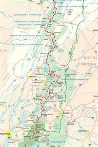 appalachian trail map appalachian trail map