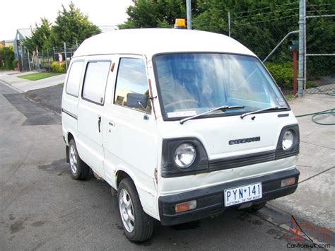 Suzuki Carry Vans Suzuki Carry Hi Top 1983 Model