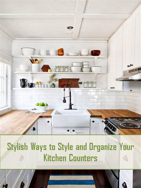 how to organize your kitchen counter style organization for your kitchen counters confettistyle