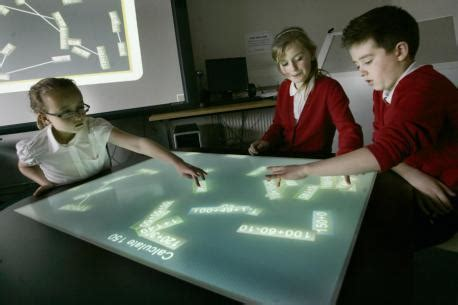 Northern Echo News Desk by Lucky Students Get To Test Cool Interactive
