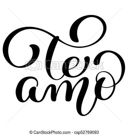 imagenes de i love you en cursiva letras amor texto valentine dise 241 o cepillo espa 241 ol