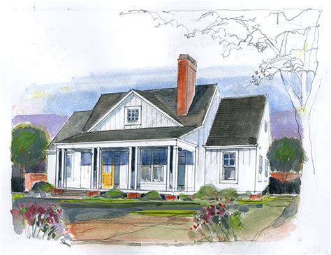 living home magnolia cottage southern living house plans