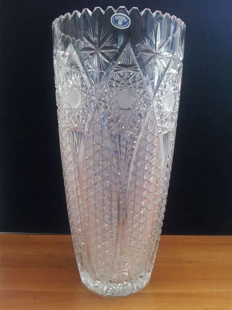 vaso di cristallo bohemia vaso in cristallo cod 42230 8074750