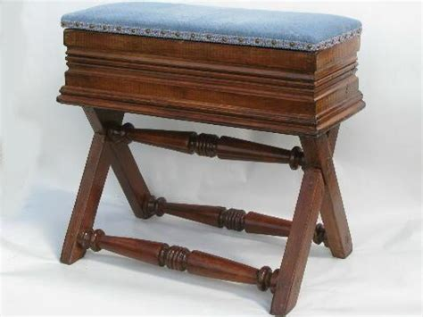 antique piano bench with storage antique organ bench piano stool victorian vintage music storage seat