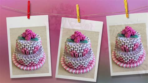 3d origami cake tutorial images frompo how to make 3d origami cake cake tutorial priti