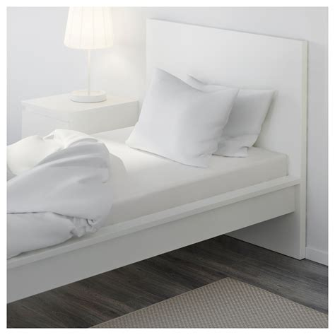 bed sheet materials dvala fitted sheet white 90x200 cm ikea