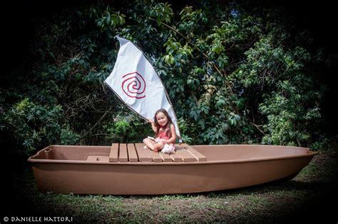 moana boat diy life size moana boat i made for my daughter the