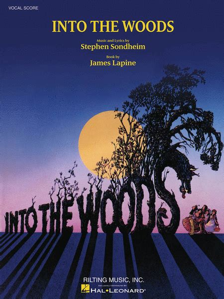 Into The Woods into the woods sheet by stephen sondheim sheet plus