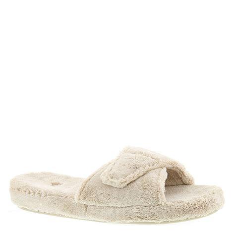 womens slide slippers acorn spa slide ii s slipper