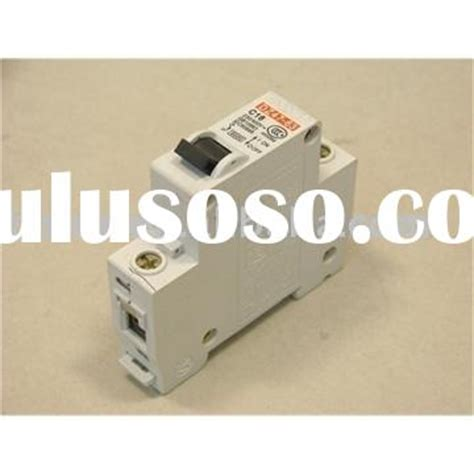 Mcb 10 A Mini Circuit Breaker Cb Sekering Otomatis 10 Schnei T1310 3 mcb circuit breaker auxiliary contact switch for sale