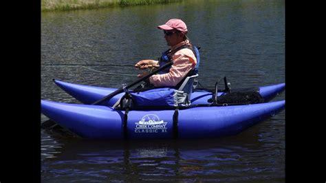inflatable boats slacks creek creek company classic xl pontoon boat youtube