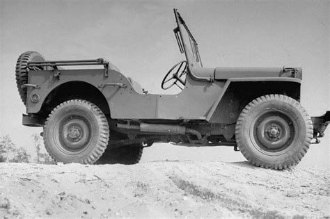 ww2 jeep side view ww2 photo wwii us army jeep side view study war two