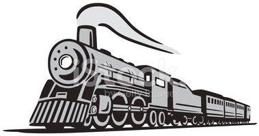 treno clipart classico treno locomotiva stock immagini vettoriali