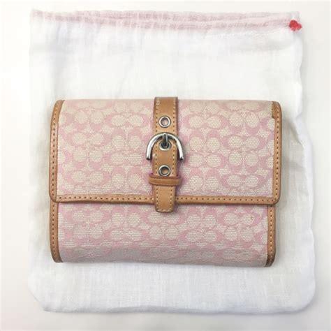 light pink coach wallet 83 off coach handbags coach wallet in light pink from