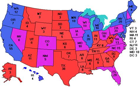 how many swing states are there electoral vote com for smartphones and pdas