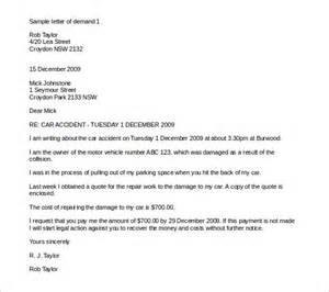 Demand Letter After Car 13 Demand Letter Templates Free Sle Exle Format Free Premium Templates