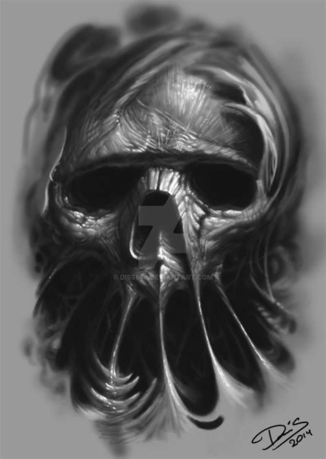 another skull by disse86 on deviantart