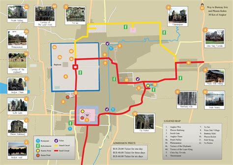 temple grand map angkor guide 10 angkor temples that you must see