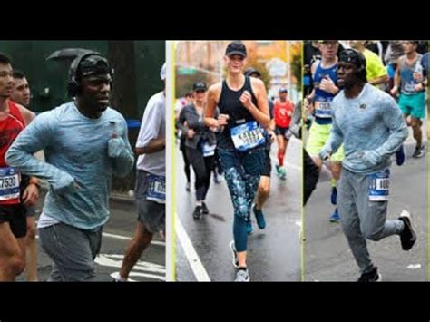 kevin hart chicago kevin hart running the chicago marathon oct 7 2018 youtube