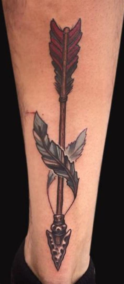 arrow and feather tattoo pin by conklin on ideas tattoos