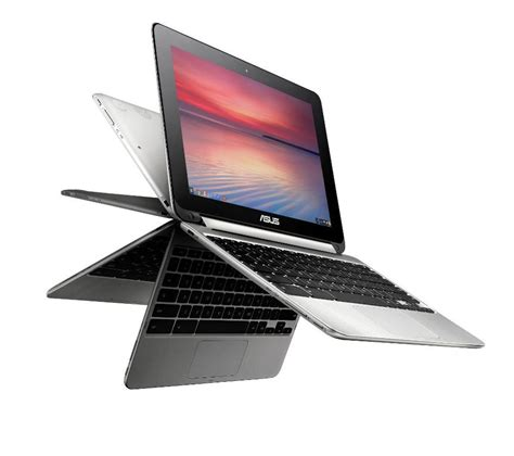 Laptop Asus Flip asus c100pa 10 1 chromebook flip silver deals pc world