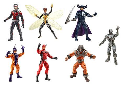 Mainan Figure Kidslogic Antman Marvel Set 6 marvel legends ant wave 1 build a figure ultron set of 6 figures hasbro new big toys