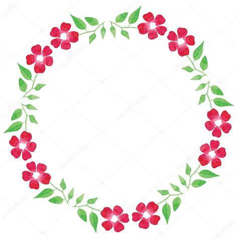 imagenes con vectores cuadro acuarela de coloridas ramas hojas y flores de