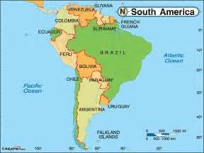 south america world map per8 0809 travel