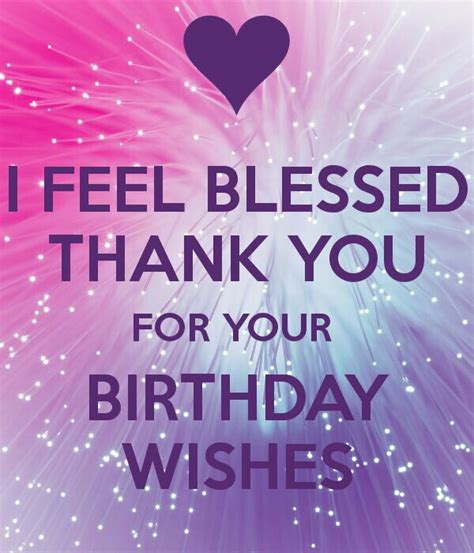 Thank You For Happy Birthday Wishes Quotes The 25 Best Thanks For Birthday Wishes Ideas On Pinterest