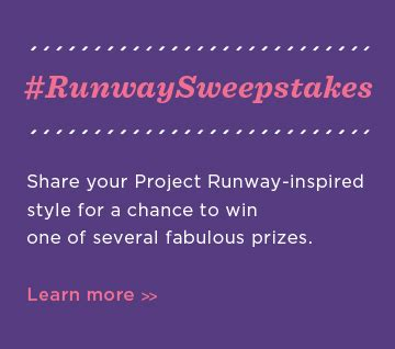 Project Runway Sweepstakes - giveaway hallmark signature style greeting cards us ends 9 16 kelly s lucky you