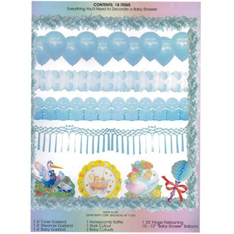Baby Shower Decoration Kits by Baby Shower Decorating Kit