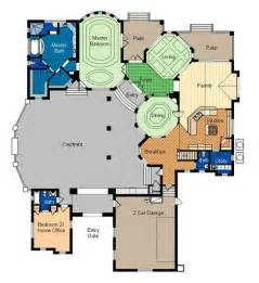 Large House Floor Plan by Cafe Floor Plans Professional Building Drawing