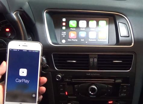 ajouter apple carplay sur votre ecran audi