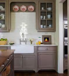 Gray amp white kitchens choosing cabinet colors the inspired room