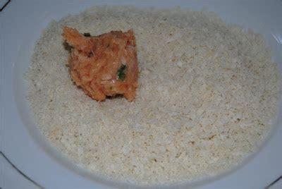 Tepung Panir Bread Crumbs Putih home made is the best salmon cake