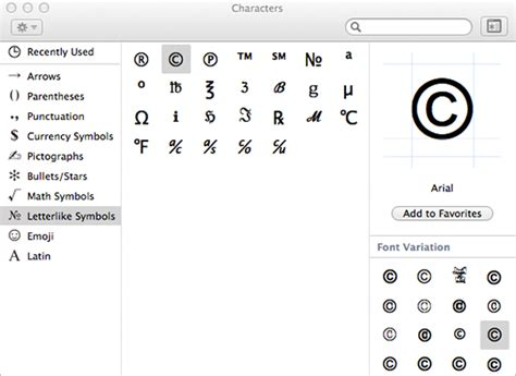 mac character map how to type special characters and symbols on your mac