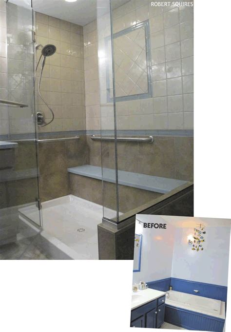 how to replace bathtub with walk in shower alaska home articles toss the tub