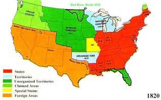 Maps Of Usa With States by U S Territorial Maps 1820